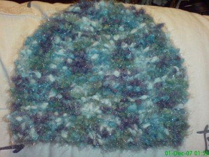 Lush Chunky Knit Ladies Hat