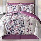 Fairfield 8-Pc Queen Size Reversible Comforter Set, Purple