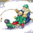 "Janlynn 008-0201"" Winter Fun Counted Cross Stitch Kit"