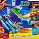 Nickelodeon Blaze and the Monster Machines Flip and Race Speedway Playset- Open