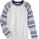 Epic Threads Boys' Diamond Stripe T-Shirt Light Grey HTR, Small