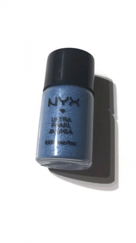 NYX Authentic Ultra Pearl Mania Eye Shadow LP10 OCEAN BLUE PEARL GLITTERY NEW