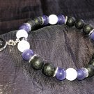 8mm Purple Cats Eye Healing Stone Diffuser Bracelet