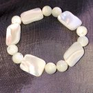 13/6mm Mother of Pearl Healing Stone Bracelet