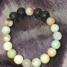 10mm Amazonite Healing Stone Diffuser Bracelet