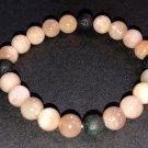 8mm Moonstone Healing Stone Diffuser Bracelet
