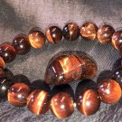 10mm Red Tiger Eye Healing Stone Bracelet