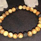 6mm Picture Jasper Healing Stone Diffuser Bracelet