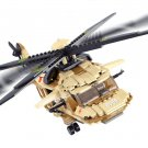 Military War lego Helicopter Army Airplane Building Blocks Coolest Toy