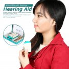 Adjustable Voice Volume Hearing Aid Pocket Sound Amplifier With Earplug