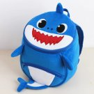 Shark Backpack Kindergarten children (Message color )
