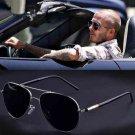 Men Sunglasses Polarized Brand Design Aviation Metail Frame