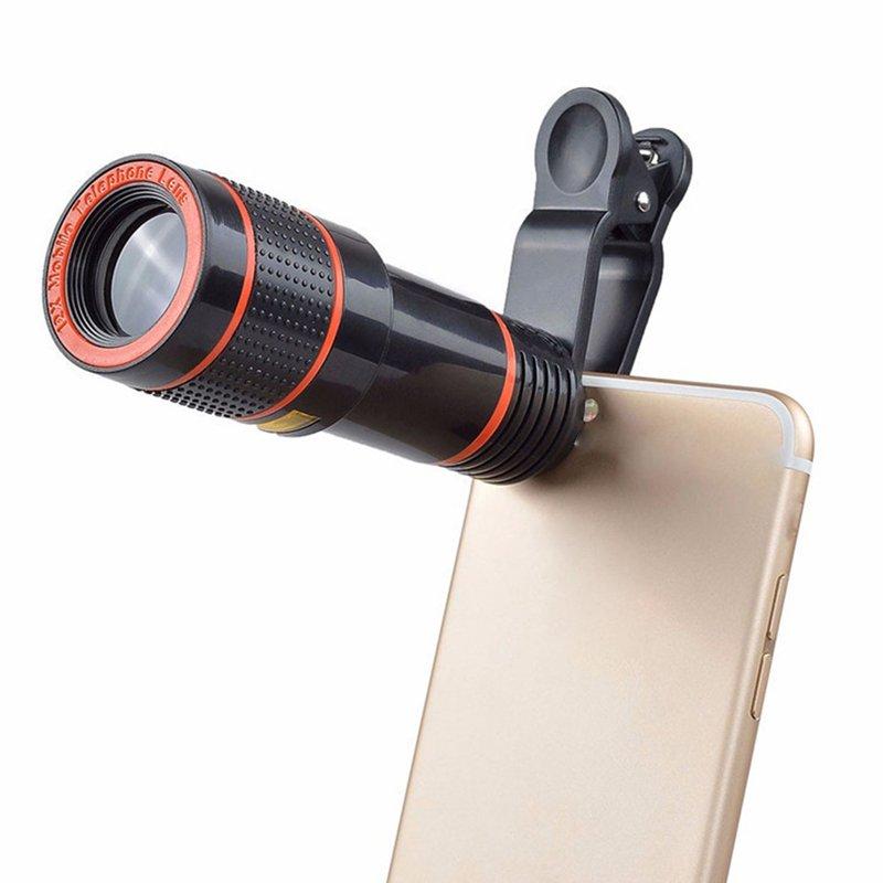 12x Optical Zoom Mobile Phone Telescope Lens HD Universal Mobile
