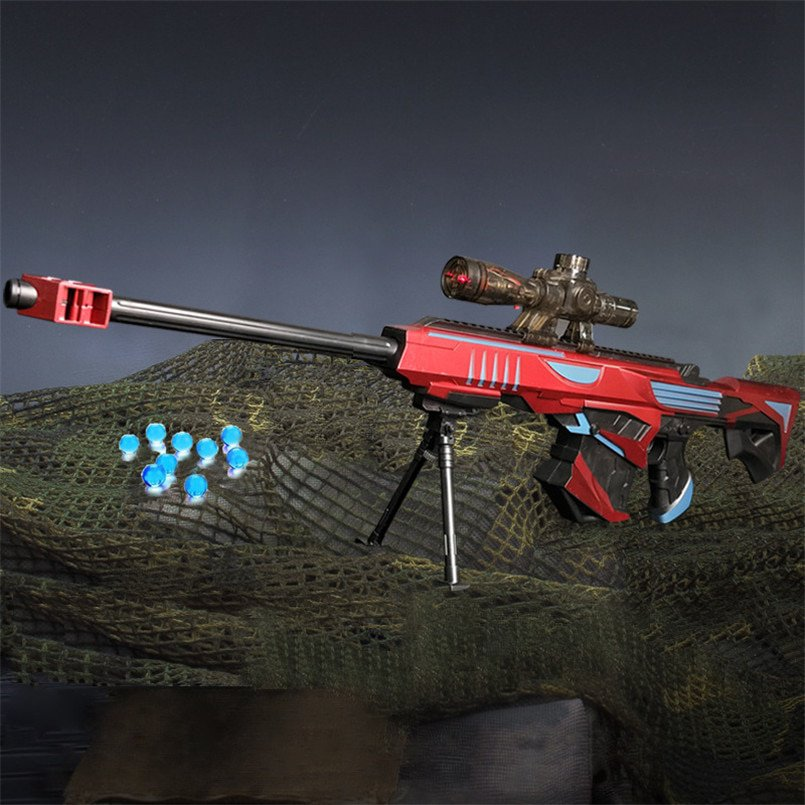 Sniper Rifle Pistol Soft Paintball Outdoor Toys