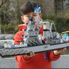 Military Aircrafted Carrier Building Blocks sets cruiser submarine ship