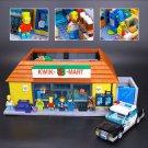 The Simpsons KWIK-E-MART 2232Pcs LEPIN - 16004 Free Shipping