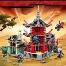 Lepin The NinjaGo Movie Temple of Resurrection Building Block Sets