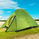 Camping Tents With free Mat 20D Fabric Ultralight Tent Free Standing