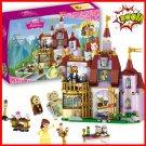 Princess belle's enchanted castle (lego 41067 analog) Building Blocks For Girls