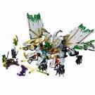1,100pcs Lepin Ninja mirage ultimate dragon | NINJAGO | Building Block