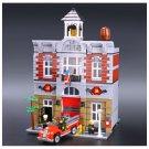 Lepin Fire Brigade  (Lego 10197 analog ) Building Blocks set