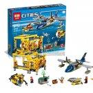 Lepin City Series Deep Sea Operation Base (Lego 60096 analog) Building Blocks