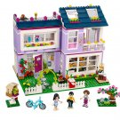 Lepin Friends  Emma's House Set (lego 41095 analog) Building block