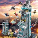 Lepin Marvel Attack on Avengers Tower 7 Floors Upgraded Version Super Heroes (lego 76038  analog)
