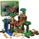 Lepin Minecraft The Jungle Tree House (Lego 21125 analog) Building Blocks Toys