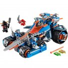 Lepin Nexo Knights Clay's Rumble Blade 14012 Building Blocks Toys