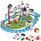 Lepin Friends Amusement Park Roller Coaster Building Blocks Set