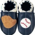 new soft soled baby leather shoes BASEBALL (12-18 mo)