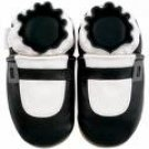 new soft sole baby leather shoes MARY JANE black (6-12 mo)