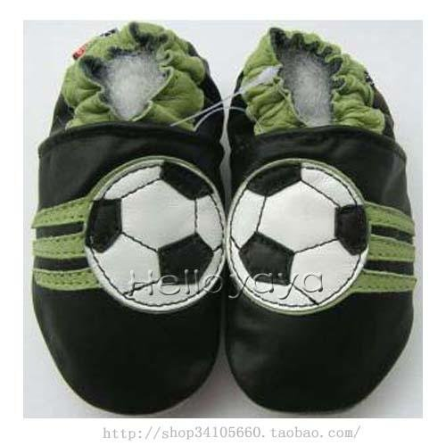 new soft soled baby leather shoes SOCCER (12-18 mo)