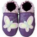new soft sole baby leather shoes BUTTERFLY (6-12 mo)