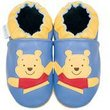 new soft sole baby leather shoes WINNIE POOH (0-6 mo)
