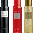 Avon Little Black Dress + Red Dress + Gold Dress Body Spray For Women 120ml x 3