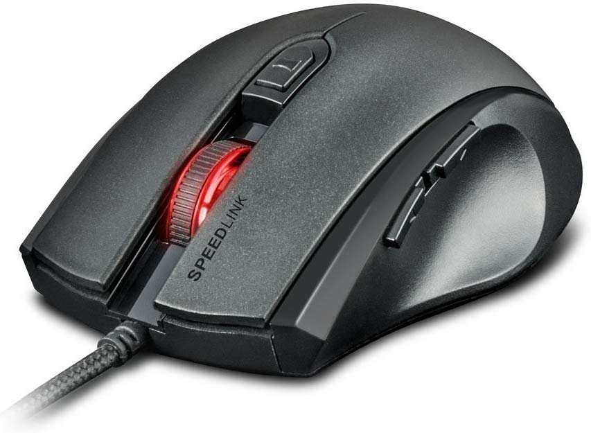 SPEEDLINK Assero 3200dpi Optical PC Gaming Mouse with Four-Colour LED Lighting