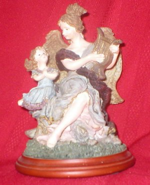 Mother and Daughter Angel