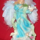 Fiber optic Angel and Doves Music Box