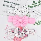 Set of  Floral  Baby Headband -3pcs