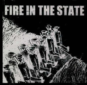 FIRE IN THE STATE / GOODBYE COMPASSION - SPLIT CD