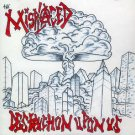 THE MISPLACED - DESTRUCTION UPON US - CD