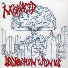 THE MISPLACED - DESTRUCTION UPON US - CD