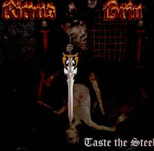 RICTUS GRIN - TASTE THE STEEL - CD