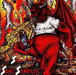 BAR WHORE - SICK SONG SAMPLER - CD