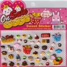 Korean Happy Foods Sweet Sticker Sheet # 1