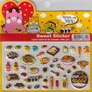 Korean Happy Foods Sweet Sticker Sheet # 3