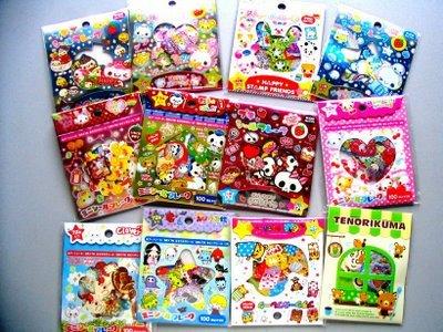 Sack Sticker Mixed Assortment