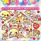 Crux Puru Puru Tamchan Egg Family Sticker Sack Kawaii